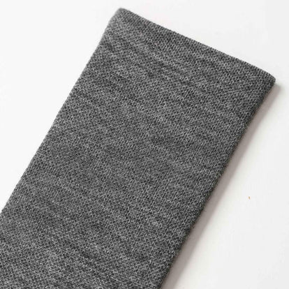 The Merino Sock in Solid Charcoal: Alternate Image 2