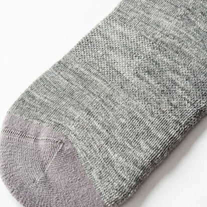 The Merino Sock in Solid Grey: Alternate Image 1