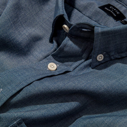 The Merino Jack in Sky Blue Chambray: Alternate Image 4