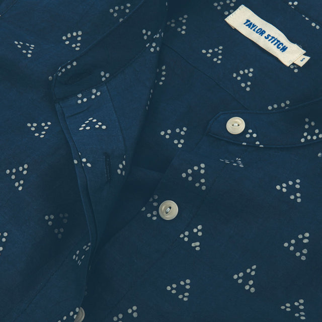The Dillon in Tri Dot Silk Batik