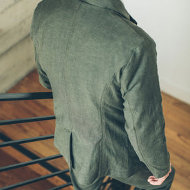The Telegraph Jacket in Olive: Alternate Image 6