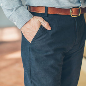 The Telegraph Trouser in Navy: Alternate Image 4
