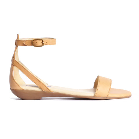 Serena Sandal in Pale Honey - featured image