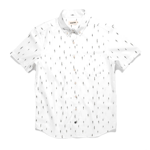 The Short Sleeve Jack in Tree Top Poplin - featured image