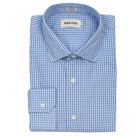 The Hyde in Sky Blue Mini Gingham - featured image