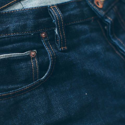 The Slim Jean in Cone Mills '68 Selvage - alternate view