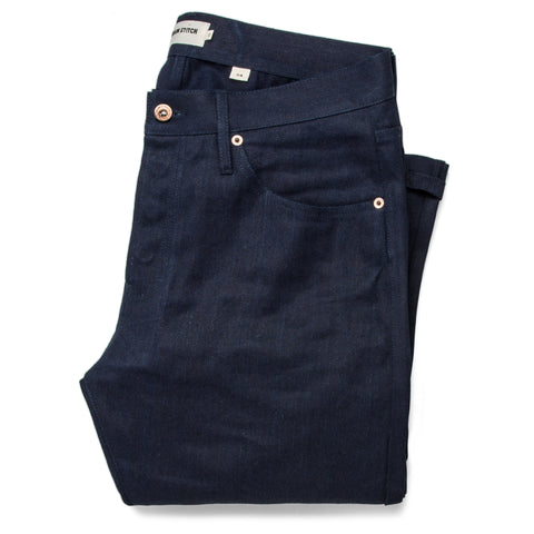 The Slim Jean in Double Indigo Standard - featured image