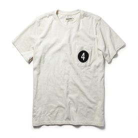 The Fourtillfour<br>Heavy Bag Tee in Natural
