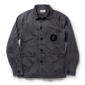 The Fourtillfour Ojai Jacket in Washed Charcoal - featured image