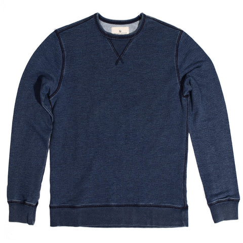 Sea Washed Indigo Crewneck Sweatshirt - featured image