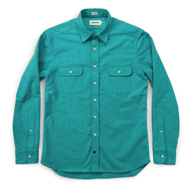 The Yosemite Shirt in Turquoise