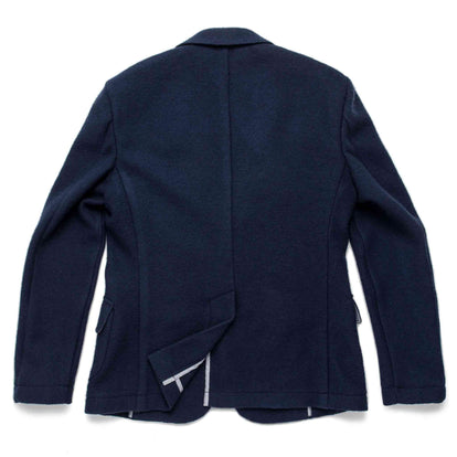 The Telegraph Jacket in Navy Boiled Wool: Alternate Image 7