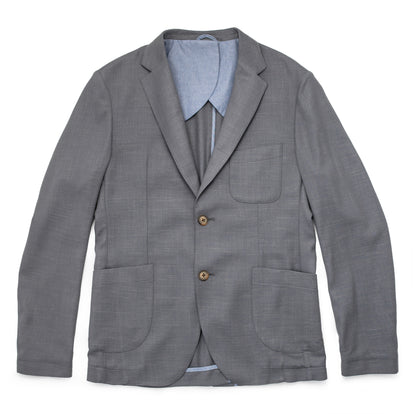 The Telegraph Jacket in Charcoal Slub: Featured Image