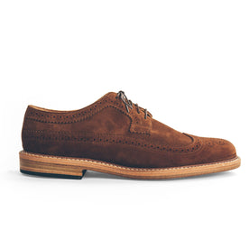 The Longwing in Peanut Suede: Featured Image