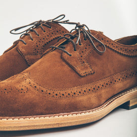 The Longwing in Peanut Suede: Alternate Image 3
