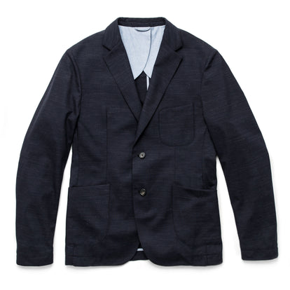The Telegraph Jacket in Navy Slub: Featured Image