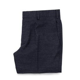 The Telegraph Trouser in Navy Slub: Featured Image
