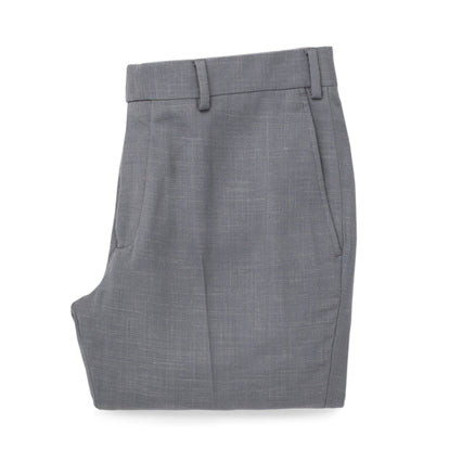 The Telegraph Trouser in Charcoal Slub: Featured Image