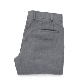 The Telegraph Trouser in Charcoal Slub: Alternate Image 7