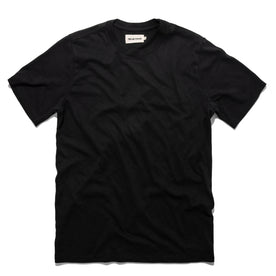 The Triblend Tee in Black: Featured Image