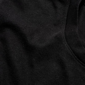 The Triblend Tee in Black: Alternate Image 4
