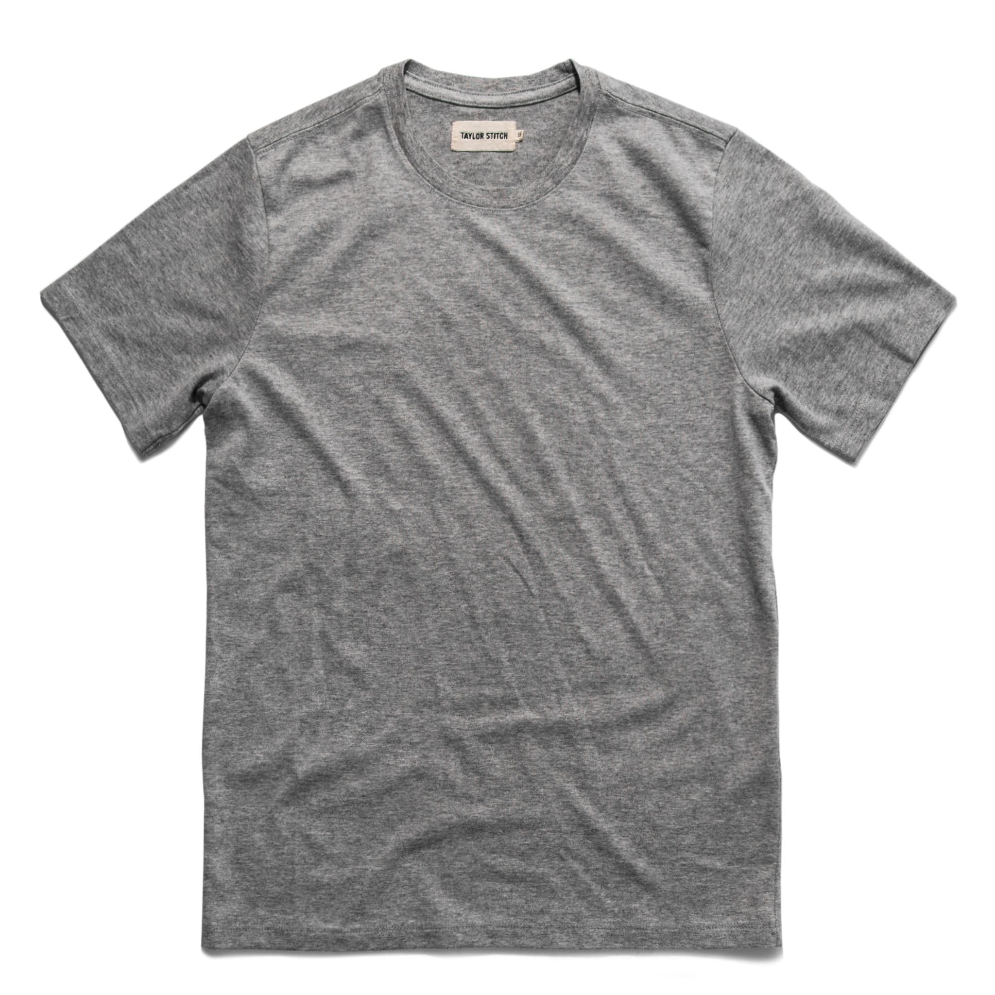 Image of THE TRIBLEND TEE <br>IN GREY