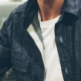 The Utility Shirt in Swift Mills Denim: Alternate Image 5