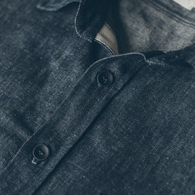 The Utility Shirt in Swift Mills Denim: Alternate Image 1