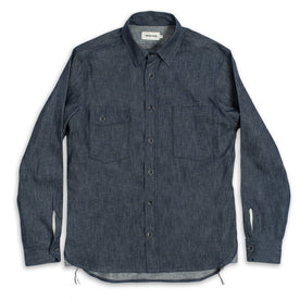 The Utility Shirt in Swift Mills Denim: Alternate Image 2