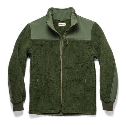 The Truckee Jacket in Moss: Featured Image