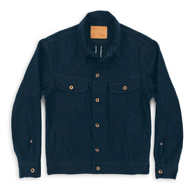 The Long Haul Jacket in Indigo Selvage Twill: Featured Image