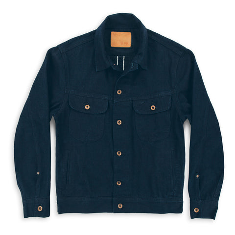 The Long Haul Jacket in Indigo Selvage Twill - featured image