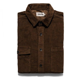 The Utility Shirt in Tobacco Cord: Featured Image
