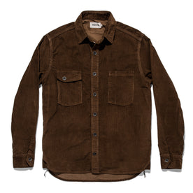 The Utility Shirt in Tobacco Cord: Alternate Image 7