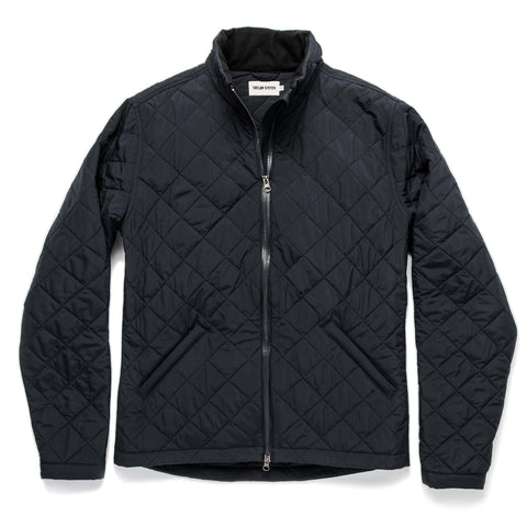 The Vertical Jacket in Navy - featured image