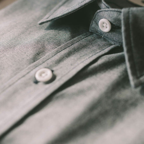 The California in Dark Blue Everyday Chambray - alternate view