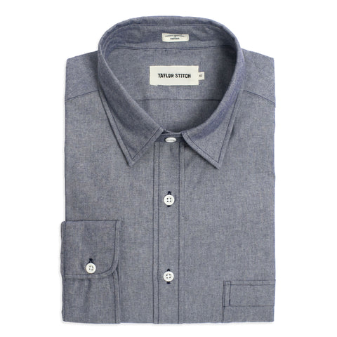 The California in Dark Blue Everyday Chambray - featured image