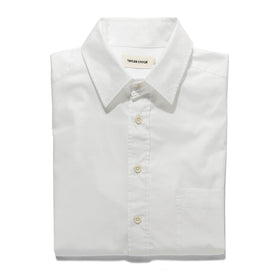 The Short Sleeve California in White Poplin: Alternate Image 7