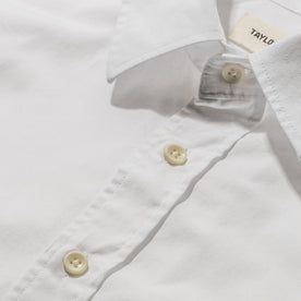 The Short Sleeve California in White Poplin: Alternate Image 6