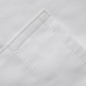 The Short Sleeve California in White Poplin: Alternate Image 4