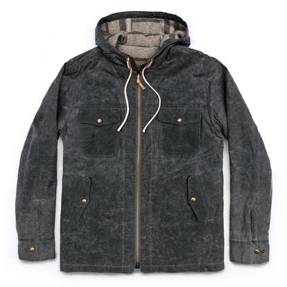 The Winslow Parka in Slate Wax Canvas: Featured Image