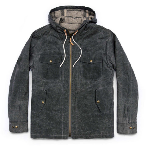 The Winslow Parka in Slate Wax Canvas - featured image