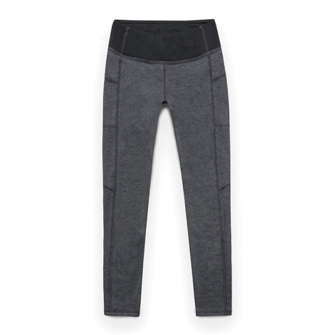 The Harper Legging in Indigo Melange Fleece - featured image