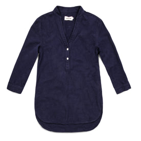 The Whitney Popover in Navy: Featured Image