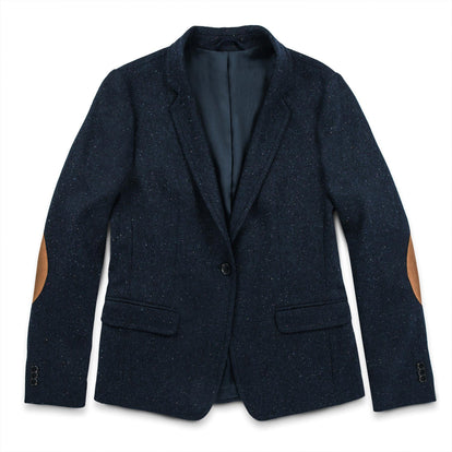 The Telegraph Blazer in Navy Donegal