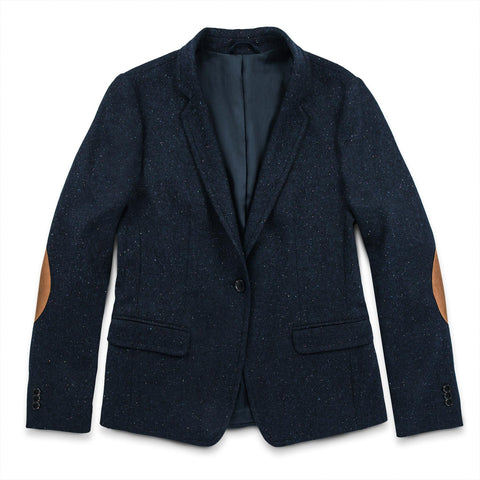 The Telegraph Blazer in Navy Donegal - featured image