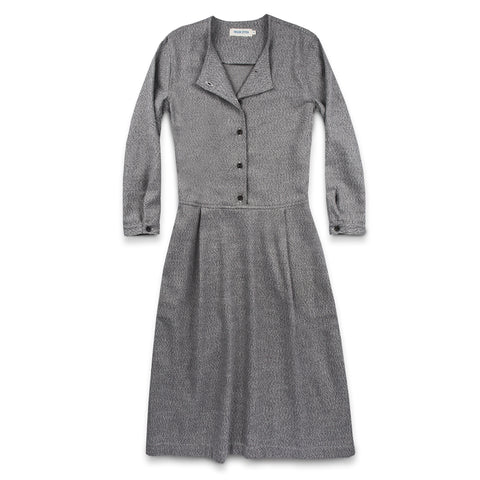 The Juniper Dress in Charcoal Brushed Melange - featured image