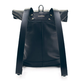 The Moto Rolltop Backpack in Noir: Alternate Image 1