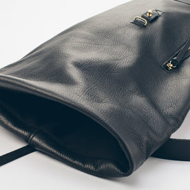 The Moto Rolltop Backpack in Noir: Alternate Image 3
