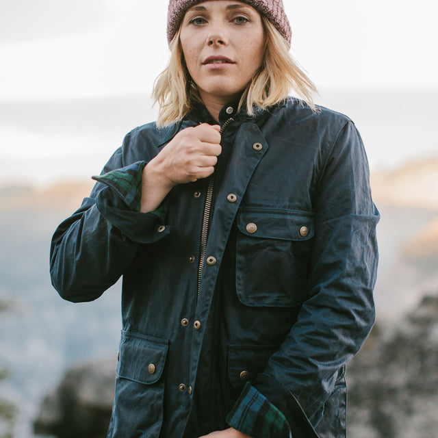 The Field Jacket in Navy